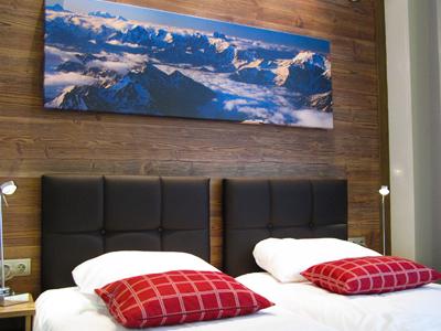 Spanplatte Design für Hotel