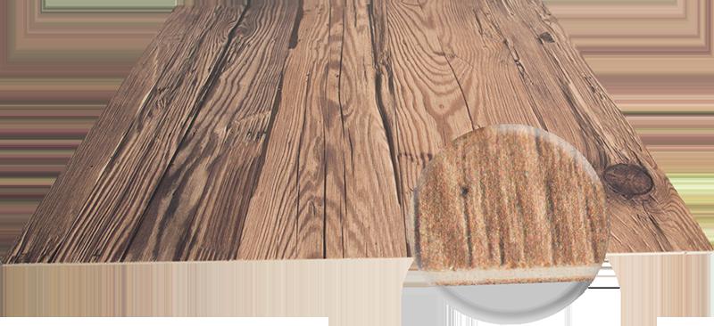 pannello di compensato in legno antico