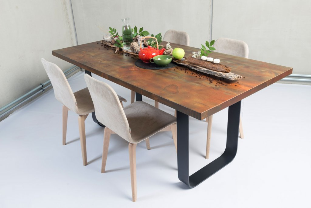 Tisch design  Concrete Design Table - Stainer Sun Wood