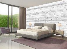 Holzverkleidung für Wand und Decke