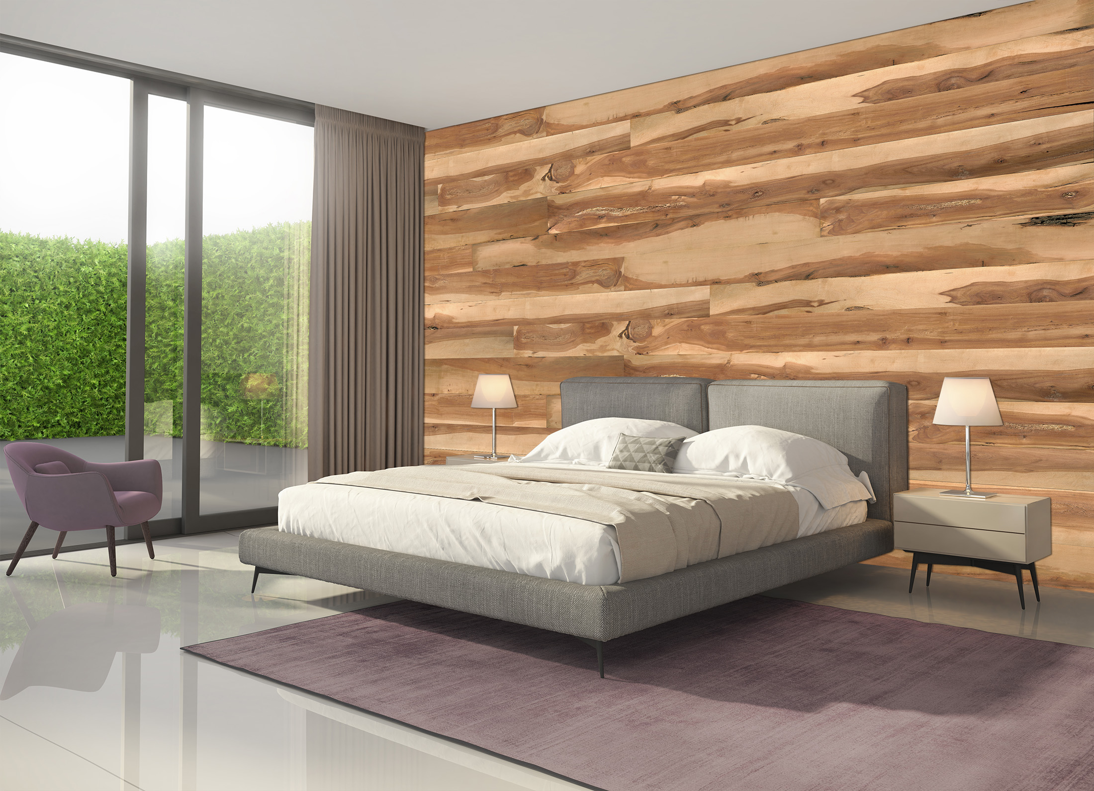 wandverkleidung aus holz versch nere dein zuhause mit. Black Bedroom Furniture Sets. Home Design Ideas