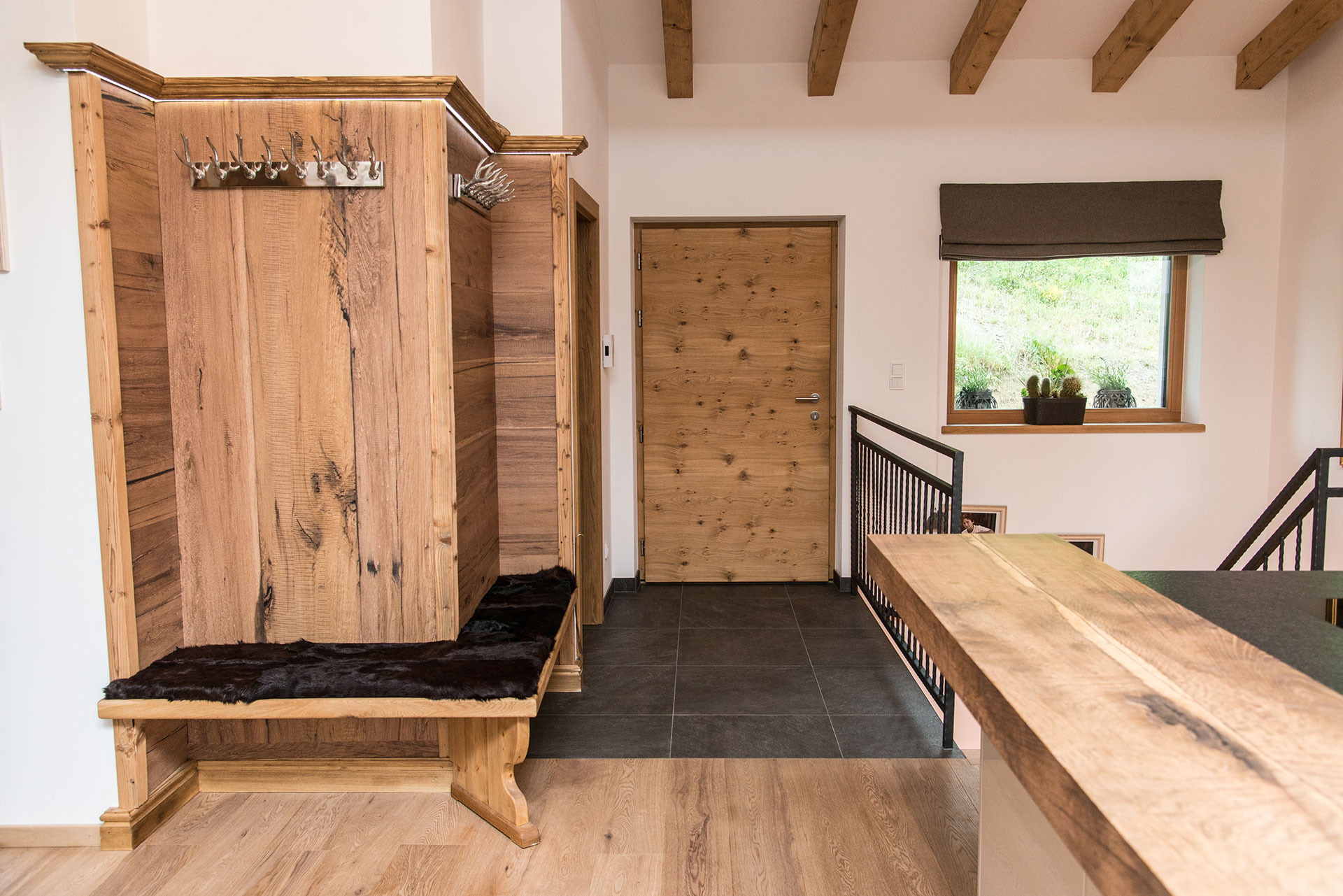 wood panelling for modern flats and traditional houses - stainer sun
