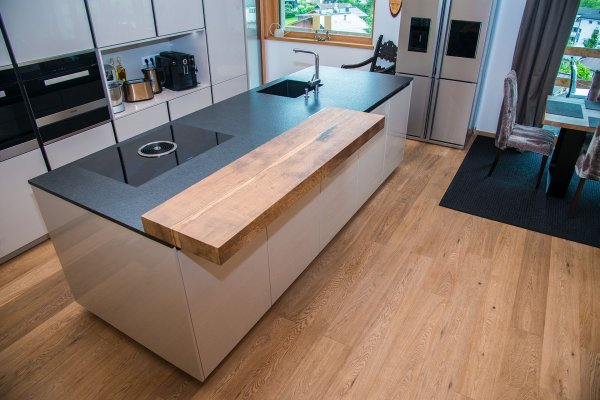 Massivholz alt Küchenplatte