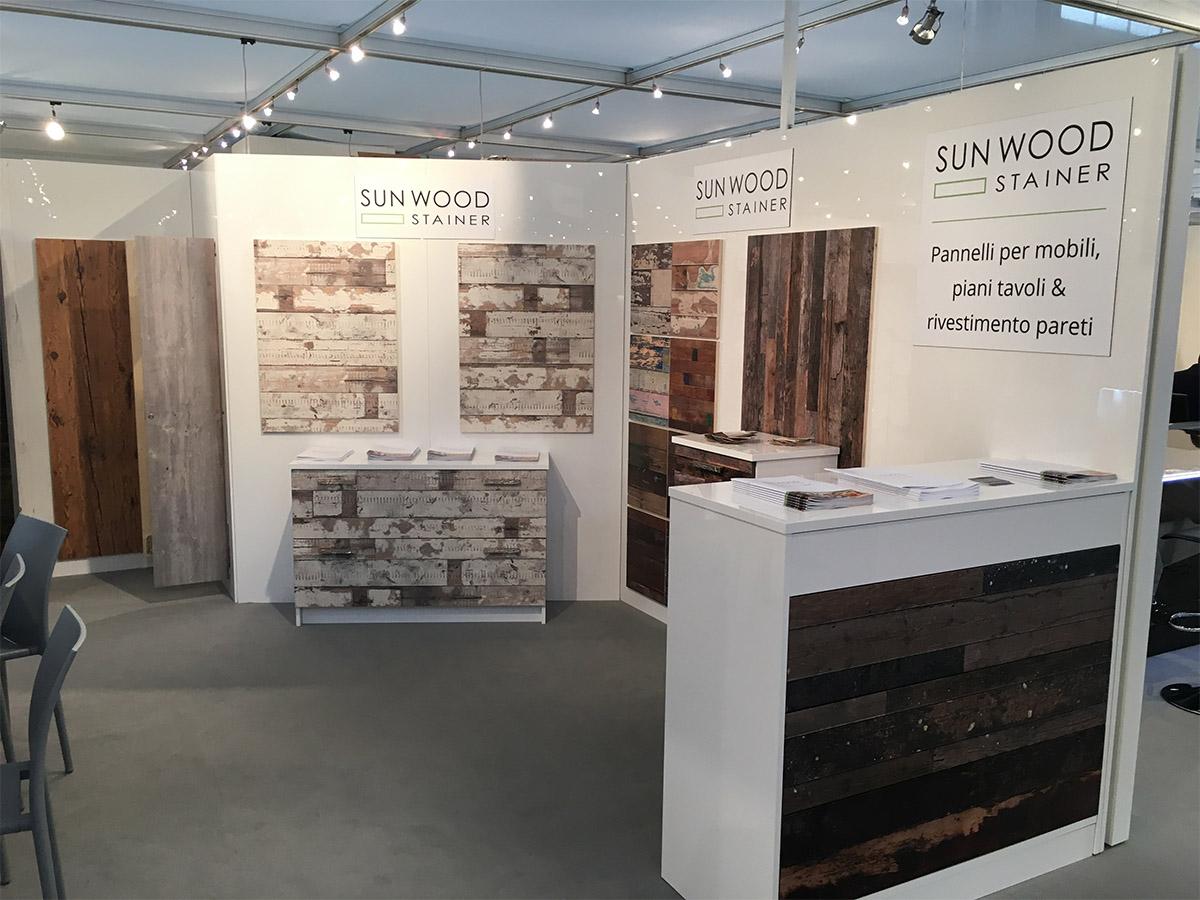expo sicam 3 stainer sun wood. Black Bedroom Furniture Sets. Home Design Ideas