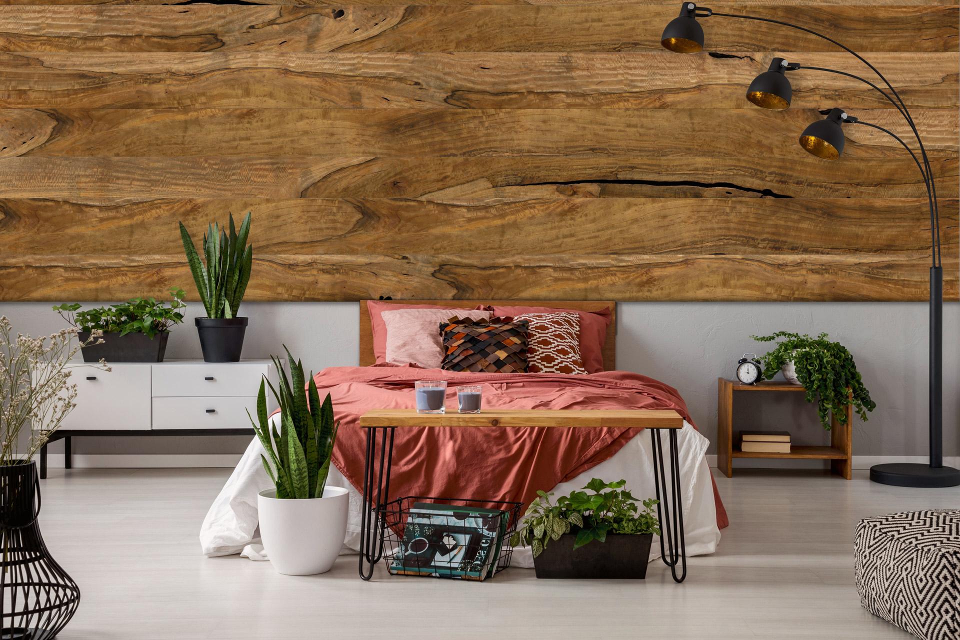 Mangoholz Wandverkleidung
