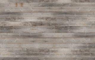 Vergrautes Holz für Wand und Decke