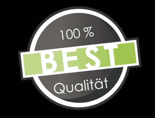 Wir investieren in Qualität und Beständigkeit