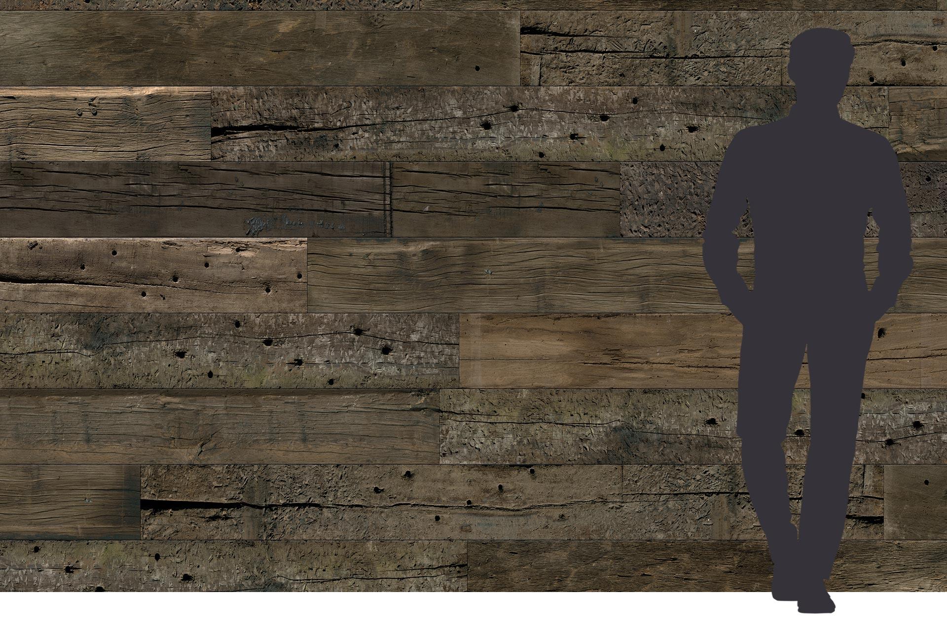 Dreischichtplatte kaufen mit Altholz Optik