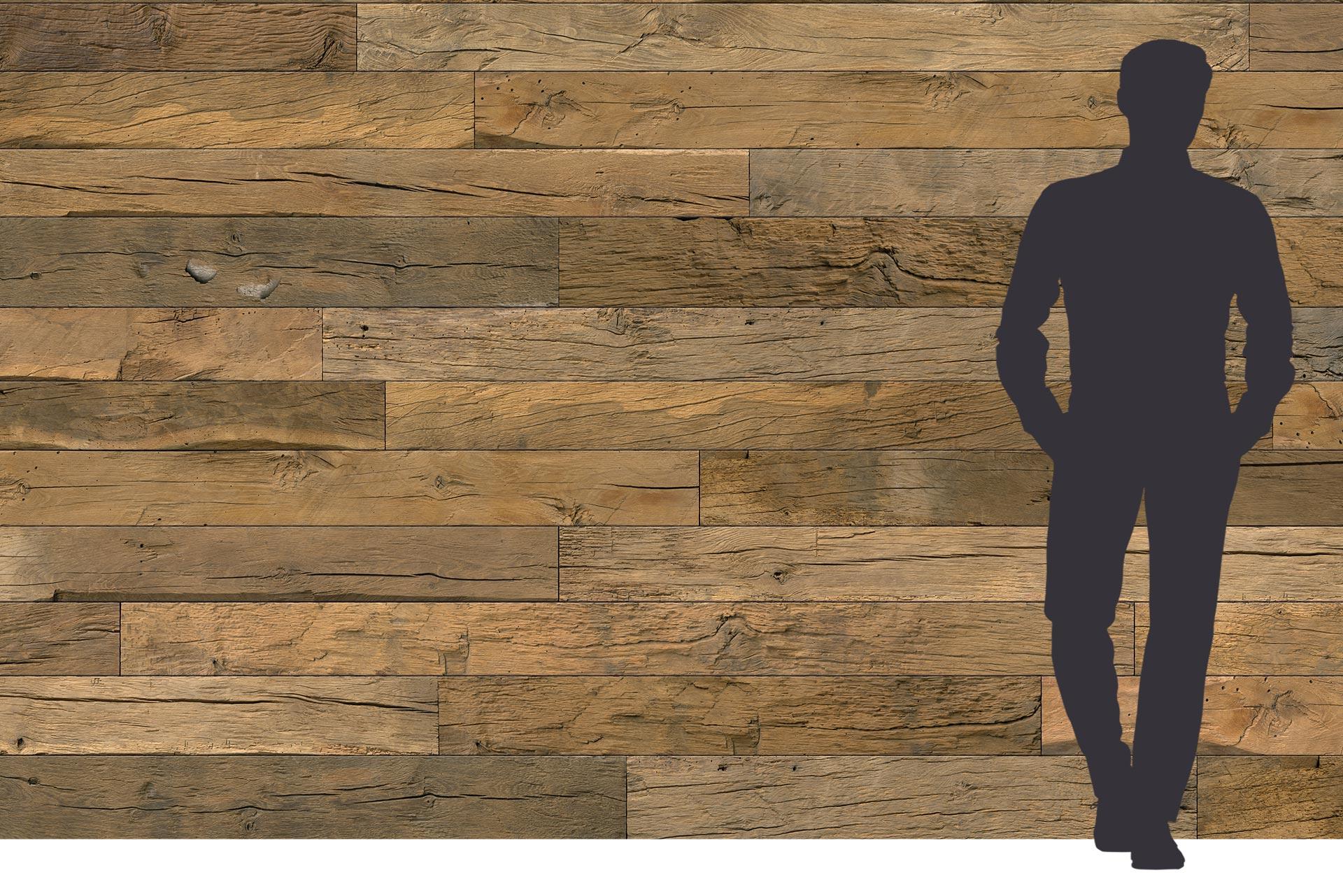 3-Schichtplatte mit Holzdekor