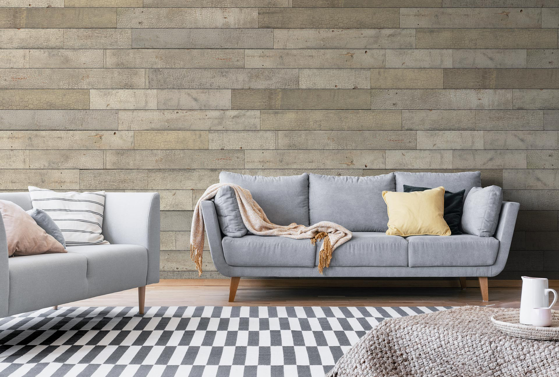 Wandvertaefelung für Ihr Wohnzimmer