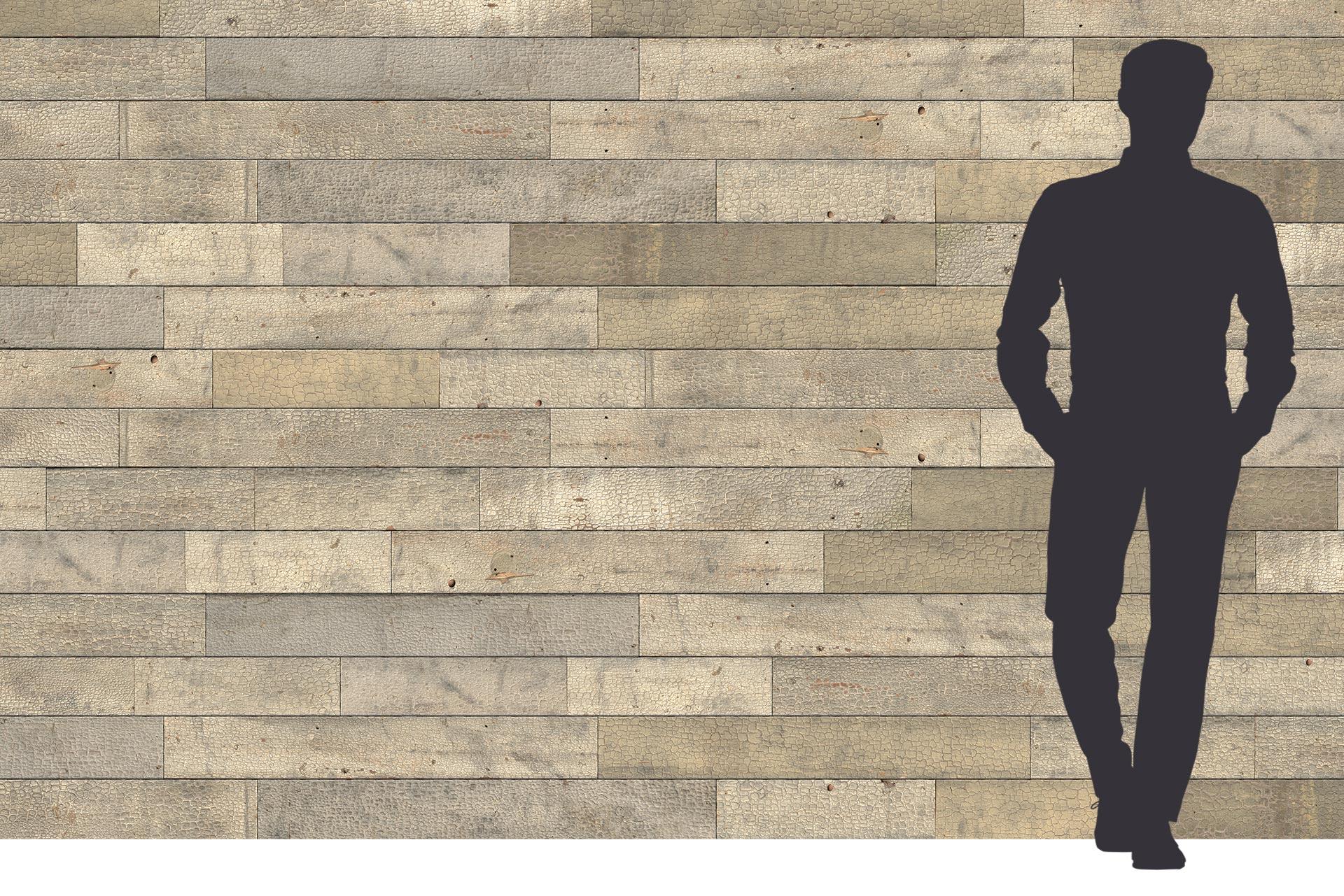 Used Look Wood auf 3-Schichtplatte