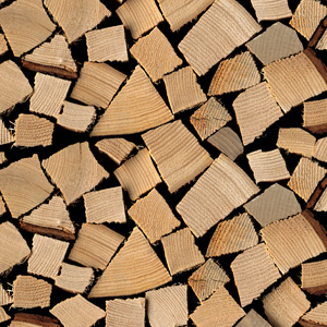 Brennholzoptik
