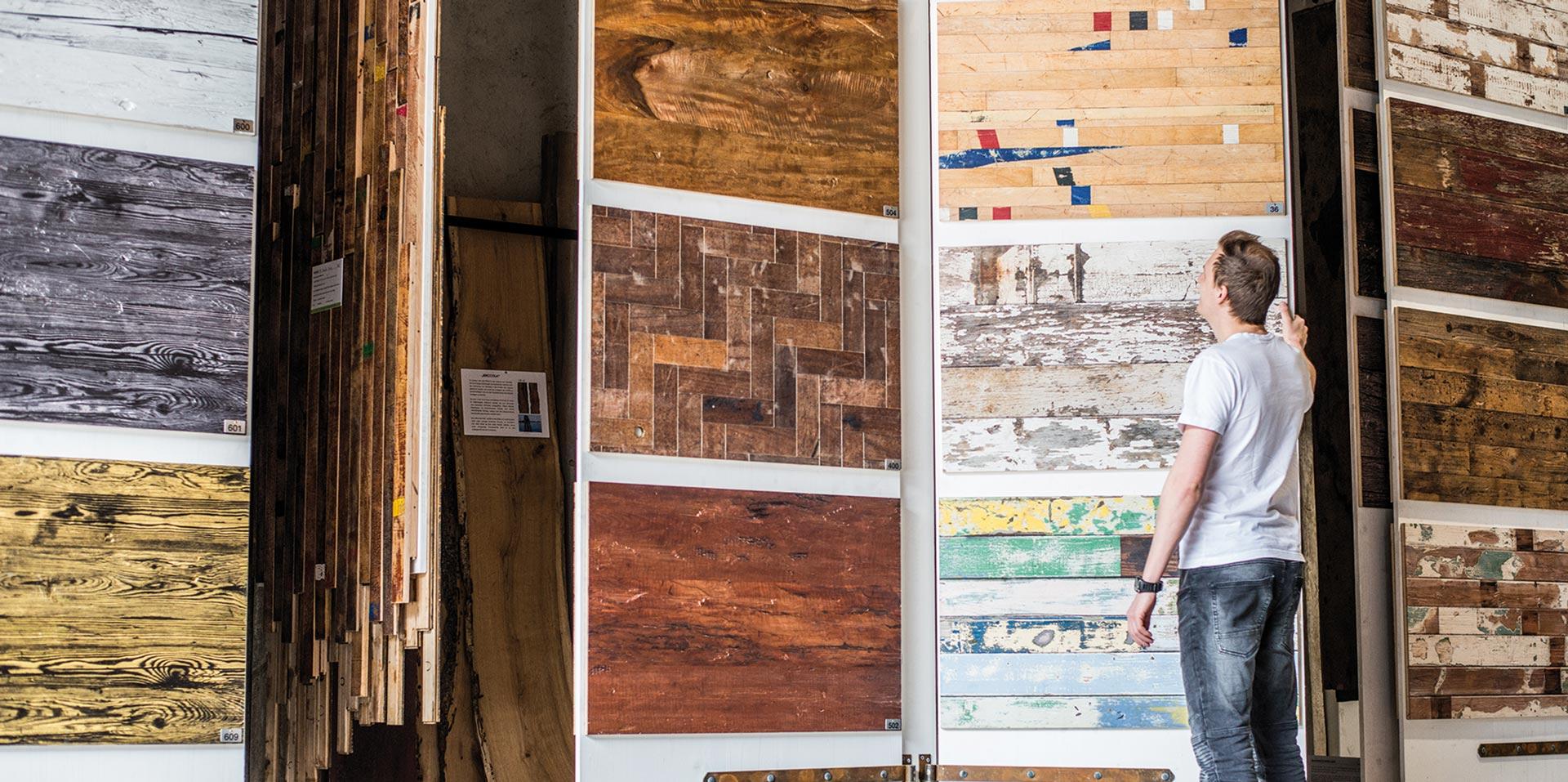 Über 100 Altholz und Edelholz Designs