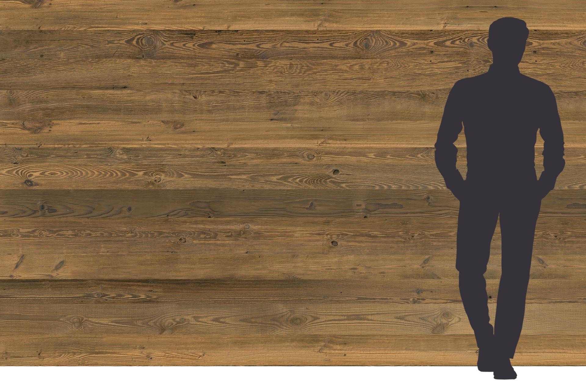 Hohe Tauern Dreischichtplatte in 3 Meter