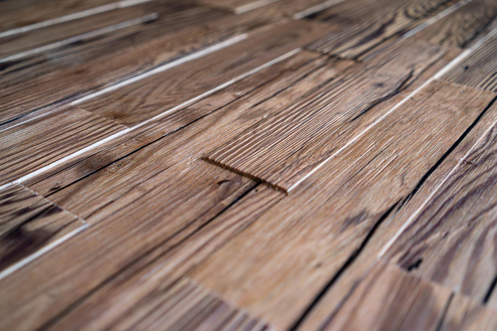 Spaltholz Oberfläche