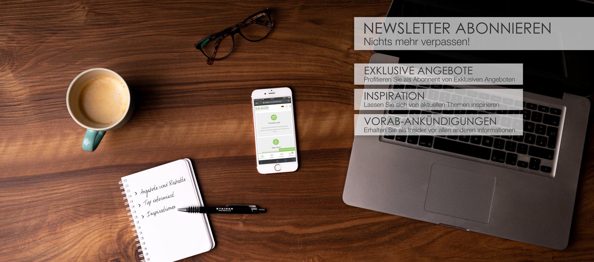 Vorteile Newsletter Anmeldung