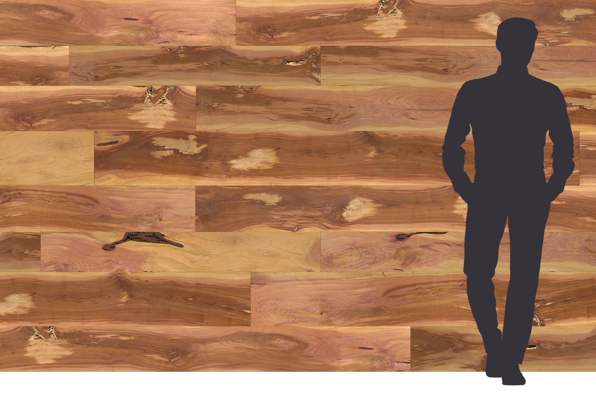 Zwetschge Holzdekor auf Dreischichtplatte