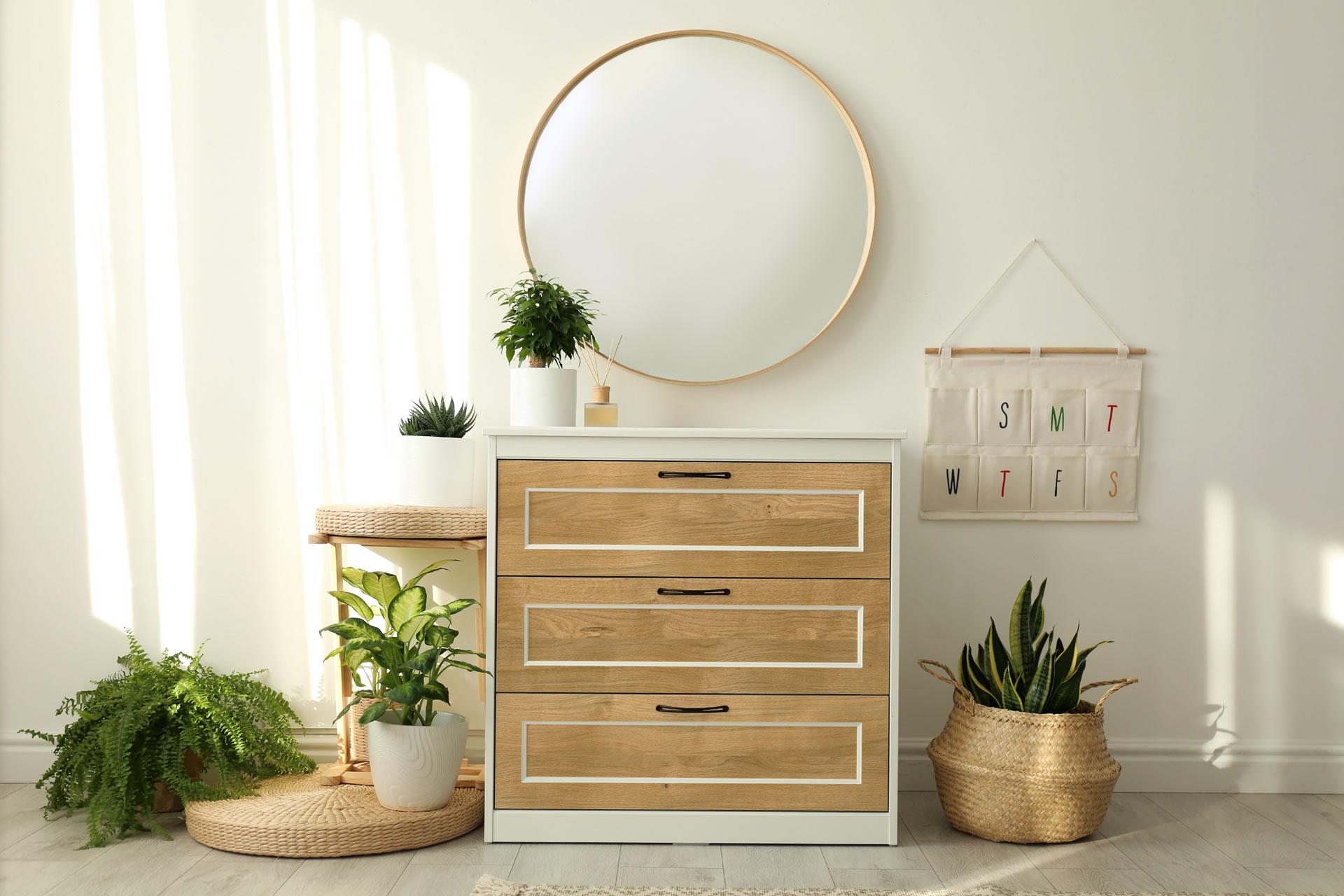 Holzfurnier mit Eichendekor zum Upcycling für Möbel