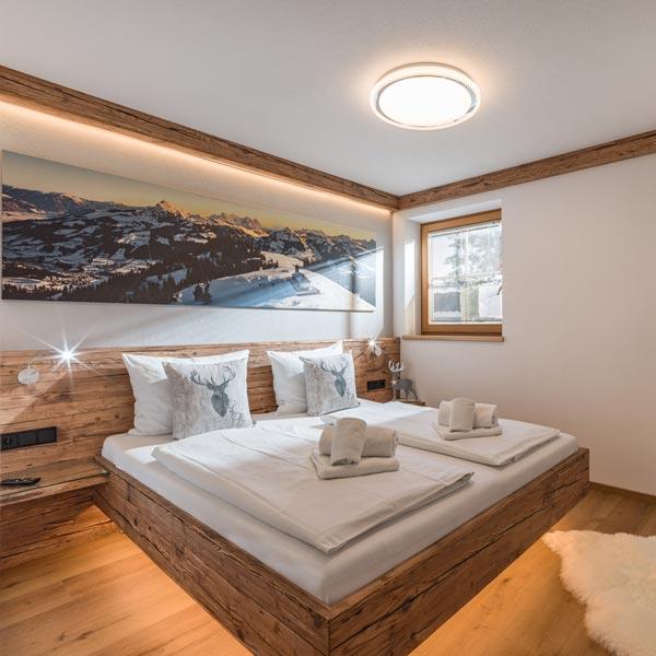 Ferienwohnung im Alpen Design